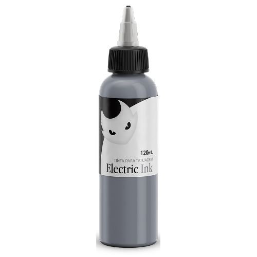 Electric Ink - Cinza Prata 120ml