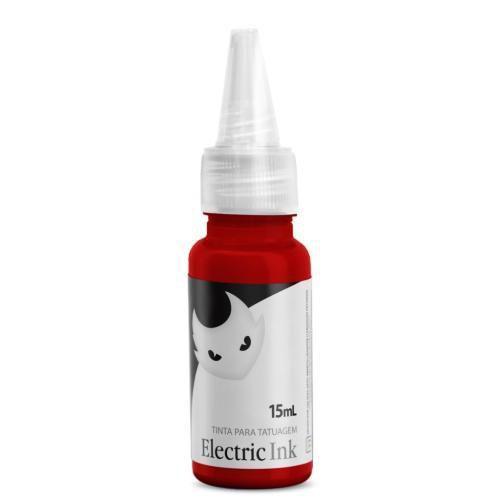 Electric Ink - Vermelho Bombeiro 15ml