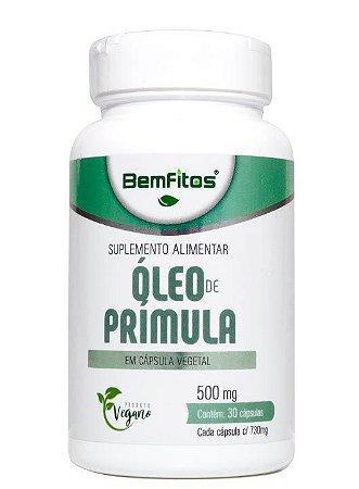 Óleo de Prímula Vegana 30caps 500MG