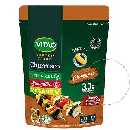Snacks Sabor Churrasco Vegano 40g