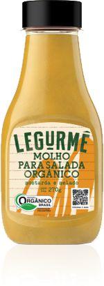 Molho para Salada Orgânico Mostarda e Melado 270g
