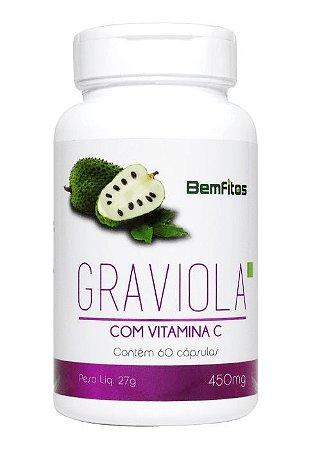Graviola com Vitamina C Veg 60caps