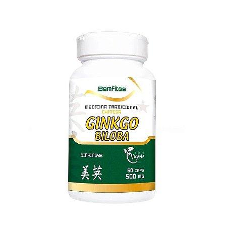 Ginkgo Biloba Vegano 60caps 500mg