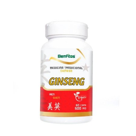 Ginseng Vegano 60caps 500mg