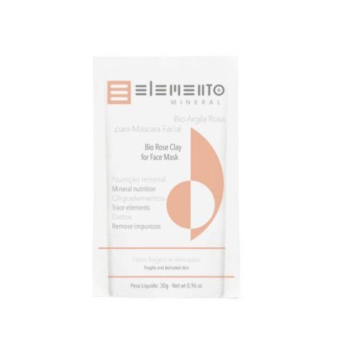 Bio Argila Rosa 30g - Elemento Mineral
