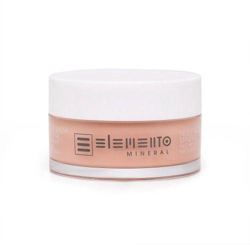 Nude Balm Hidratante Facial Efeito Mate 50g - Elemento Mineral