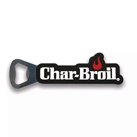 Abridor de Garrafas c/ Logo Char-Broil