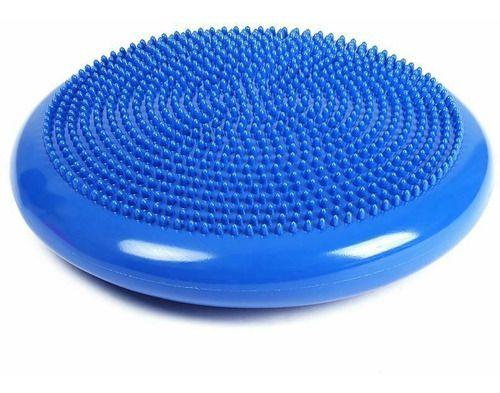 Disco De Equilíbrio Azul Balance Cushion Inflável Almofada 33cm