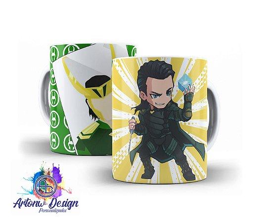 Caneca Loki