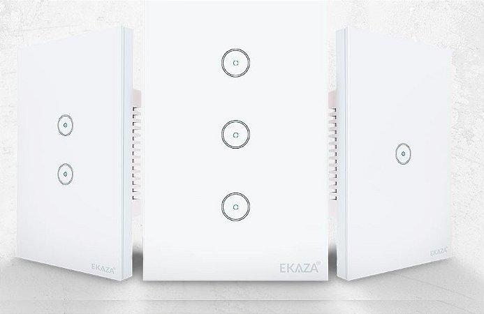 Interruptor Smart Touch Wifi Ekaza 3 Teclas
