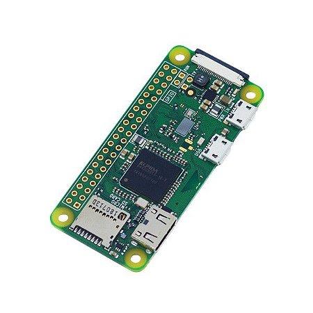 Raspberry Pi Zero W (c/ Header Fêmea)