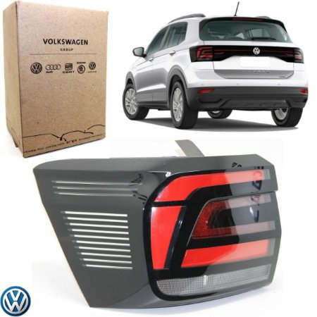 Lanterna VW T-Cross 2019 a 2020 Lado Esquerdo