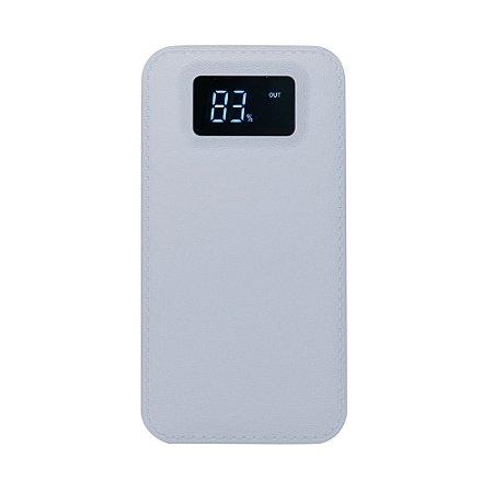 Power Bank Plástico com Indicador Digital