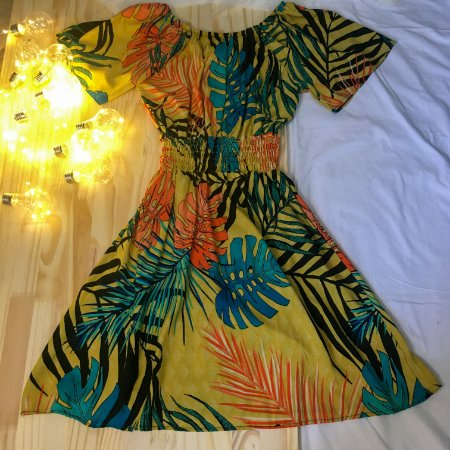 Vestido Ivy Curto Manga Curta