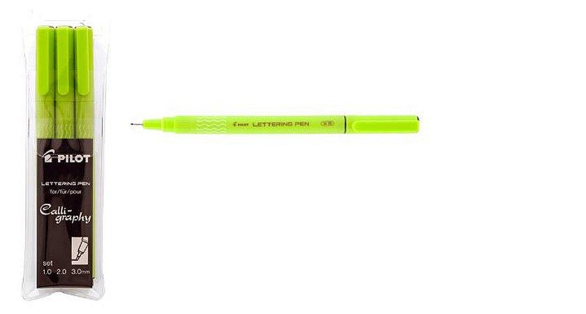 Caneta Lettering Pen-3 un - Pilot