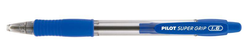 Caneta Esferográfica Super Grip 1.6 Azul- Pilot