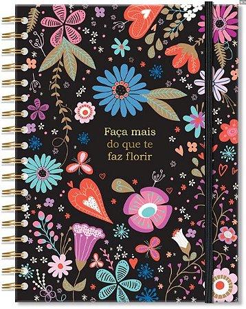 Caderno Colegial - Fiore - 200 folhas - Fina Ideia