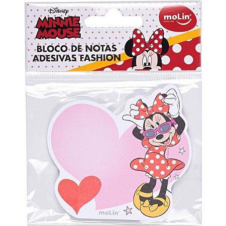 Bloco de Notas Adesivas Fashion - Minnie Mouse - Molin