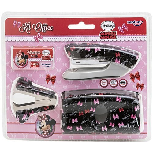 Kit Office - Minnie Mouse - Molin