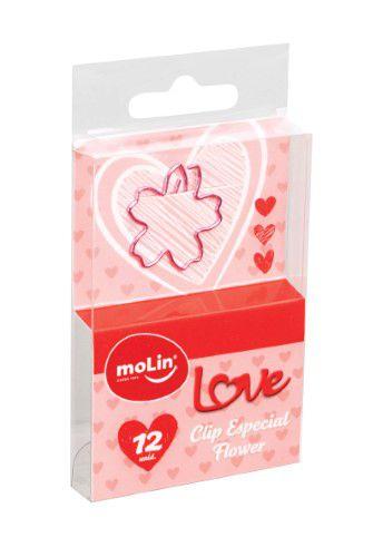 Clips especial - Love - Flower - Molin