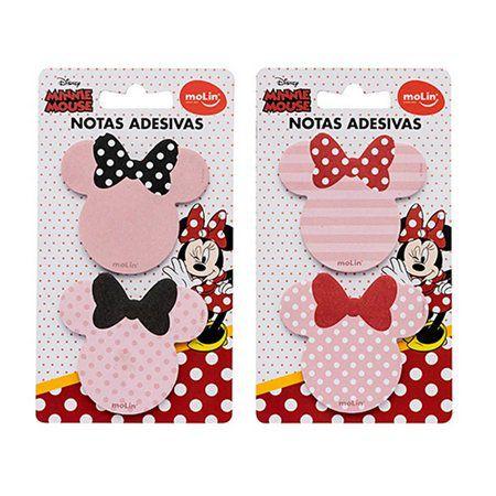 Notas Adesivas - Minnie Mouse - Molin