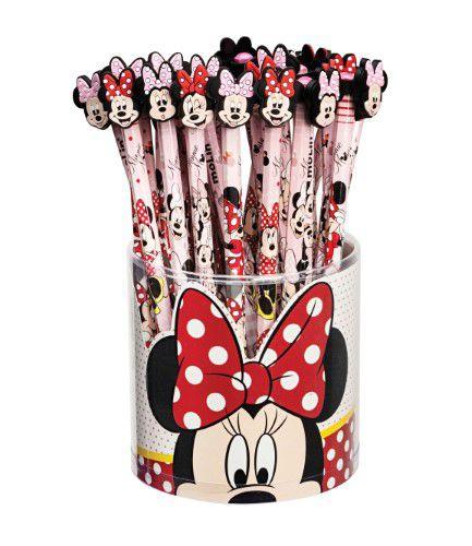 Lápis Preto Top Minnie Mouse - Molin