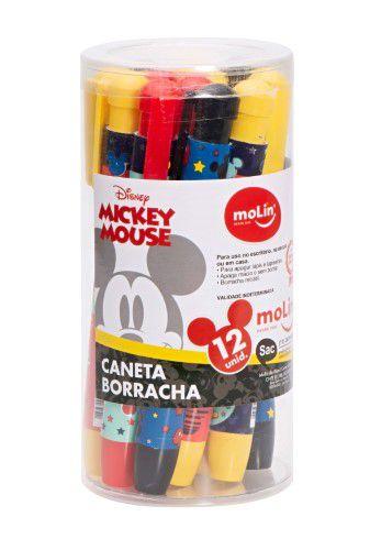 Caneta Borracha - Mickey Mouse - Molin