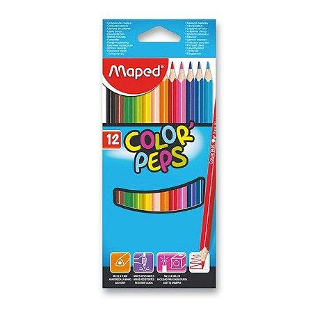 Lápis De Cor 12 Cores Maped Color Peps