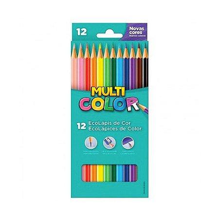 Ecolápis cor multicolor super 12 cores - Multicolor - Faber-Castell