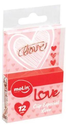 Clipes - Especial Love - 12 Unidades - Molin