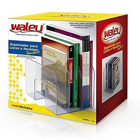 Organizador para Livros Standard - - Branco - Waleu