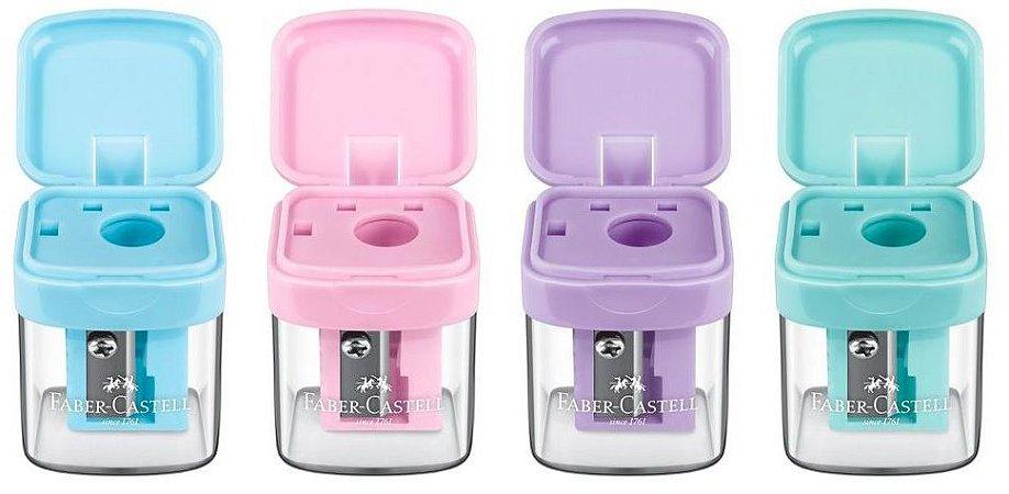 Apontadores com deposito sacapuntas minibox - Faber-Castell