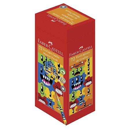Ecolápis Grafite Monster Puzzle - Faber-Castell