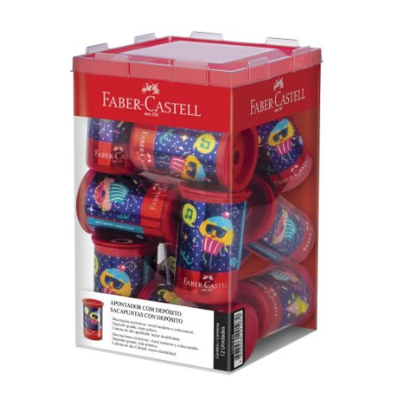 Apontador Candy Party - Faber-Castell