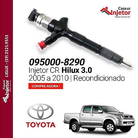 Injetor Hilux 3.0 2005 a 2010 095000-8290 Recondicionado