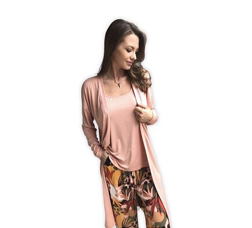 Pijama SARA - Orange Tropical (Calça)