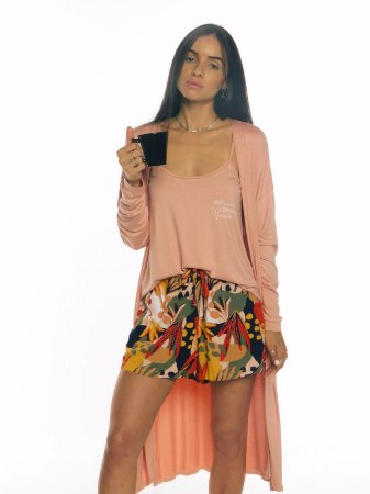 Pijama SARA - Orange Tropical
