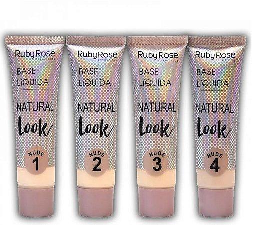 Base Liquida Natural Look Nude - Ruby Rose