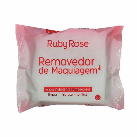 Lenço Facial Removedor De Maquiagem - Ruby Rose