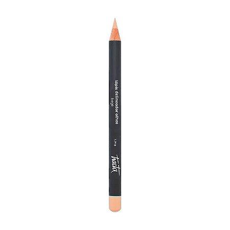Lápis Delineador De Olhos Bege - Tracta