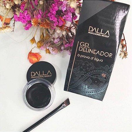 Gel Delineador A Prova D Agua Dalla Makeup