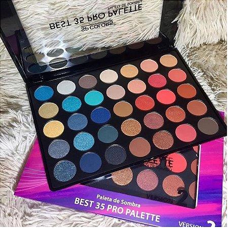 Paleta De Sombra Best 35 Pro SP Colors