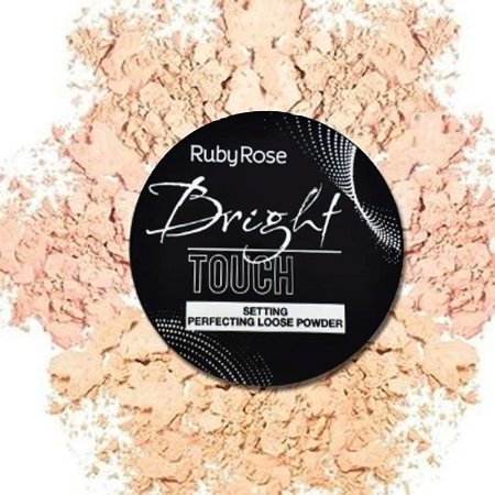 Pó Facial Solto Bright Touch  – Ruby Rose