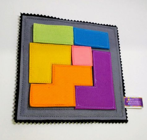 Placa pedagógica mini Tetris