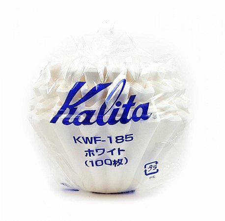 Filtro branco para KALITA Wave 185 - 100unid