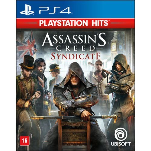 Jogo Game Assassins Creed Syndicate Hits - Ps4