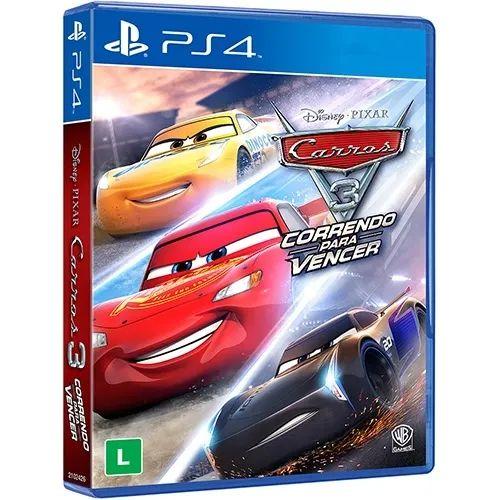 Jogo Game Carros 3 : Correndo para vencer - PS4