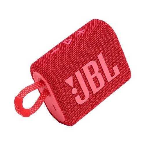Caixa de som Bluetooth JBL GO 3 Vermelho