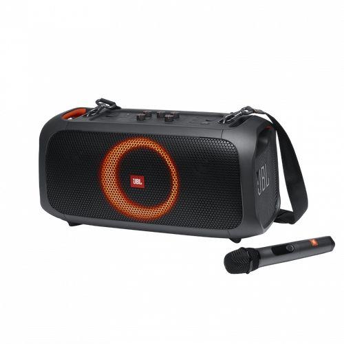Caixa de Som JBL PartyBox On-The-Go Portatil C/ Microfone