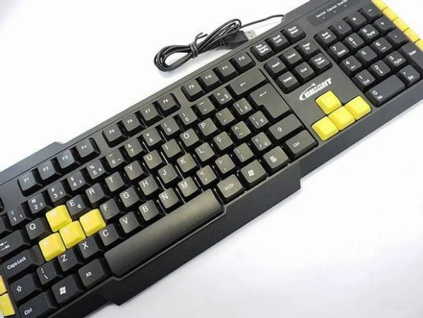 Teclado Usb Gamer Bright 0183 Simples
